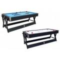 7 Ft Dual Function - Billiards / Air Hockey